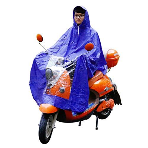 YONGYAO Wasserdichte Motorrad Regenmantel Scooter Mobilität Regen Mantel Cape Poncho PVC