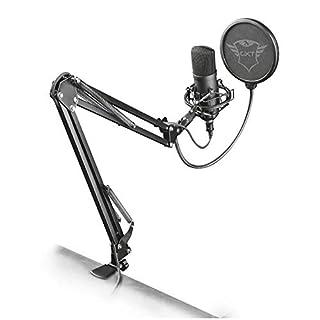 Trust Gaming GXT 252 Emita Plus - Micrófono USB profesional, con condensador, con brazo para streaming, color negro (B079GC95S4) | Amazon price tracker / tracking, Amazon price history charts, Amazon price watches, Amazon price drop alerts