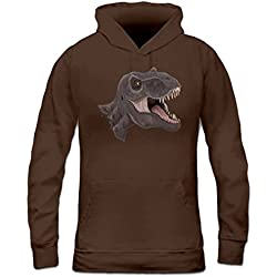 Sudadera con capucha de mujer T-Rex tyrannosaurus rex by Shirtcity