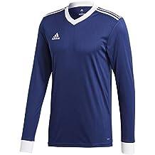 Adidas CZ5458 Camiseta Mangas Largas, Hombre, Azul (Dark Blue/White),