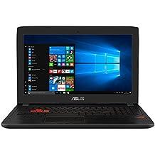 """ASUS GL502VM-FY164T - Portátil de 15.6"""" (Intel Core i7-7700HQ, RAM de 16 GB, 1000 GB HDD, SSD de 128 GB, NVIDIA GeForce GTX 1060 de 6 GB, Windows 10) plástico negro - Teclado QWERTY Español"""