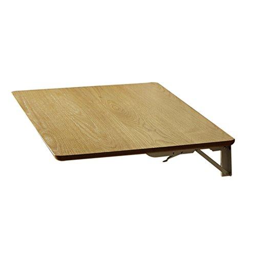 Zhuozi FUFU Wandhalterung Massivholz an der Wand befestigter faltender Speisetisch-einfacher Computer-Schreibtisch-Beistelltisch-Studien-Tabelle Drop-Blatt-Tabelle (größe : 100*50cm) (Kleinkind 3-sitz Tabelle)