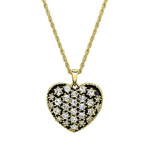 Oven Moda Femmes Diamant Bijoux Cadeau Plaqué