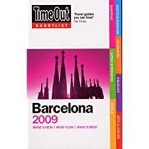 Time Out Shortlist Barcelona 2009 by Time Out Guides Ltd (2008-09-04)