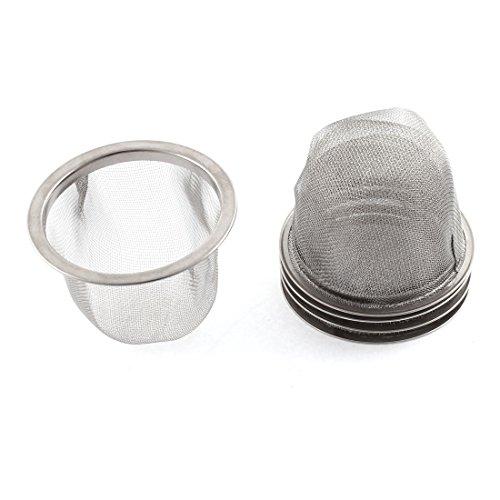 """Preisvergleich Produktbild 2.5"""" Äußere 2.2 """"Innen Heim Küche Sieb Basin Filtergewebe Spüle Seiher 5 Stück"""