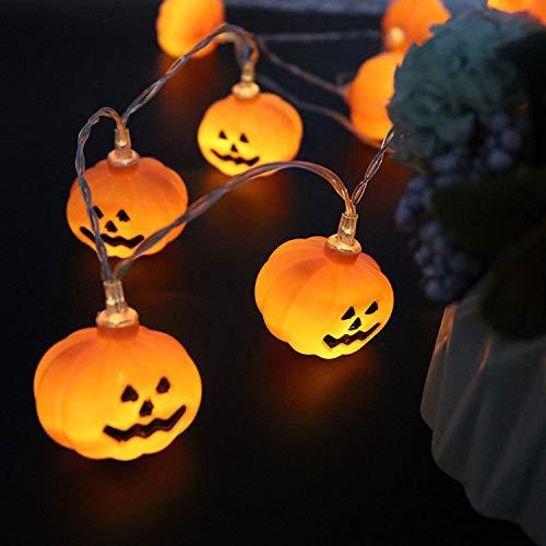 NNIUK 20 LED Fata Zucca luce della stringa per la decorazione di Halloween del partito di natalizie di Cosplay.