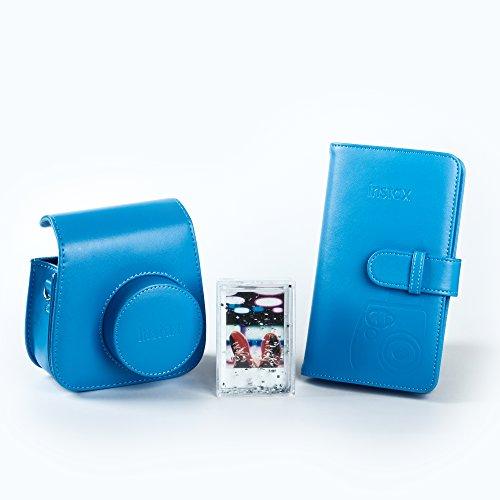 Fujifilm 70100138068 Kit Accessori per Fotocamera Instax Mini 9 Cobalt Blu