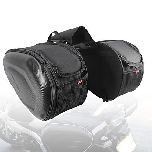 Never-hu Caja de Motocicleta Bolsa de Cuero Bolsa de Motocicleta Alforjas de...