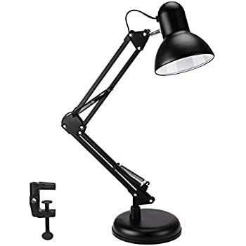 Wafting Swing Arm Desk Lamp Table Lamp Extra Led Bulb