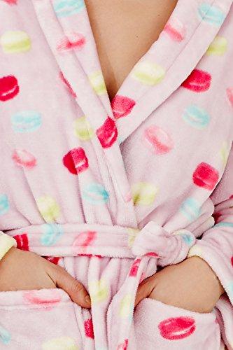 Femmes Loungeable Macaron Combinaison Ou Robes De Chambre De Luxe Pour Femmes Pyjama Lilas - Longue Robe