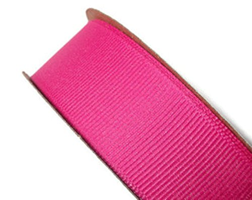 Ripsband 20mm x 10Meter wählen Sie aus vielen Farben-GCS London., fuchsia pink, 20 mm