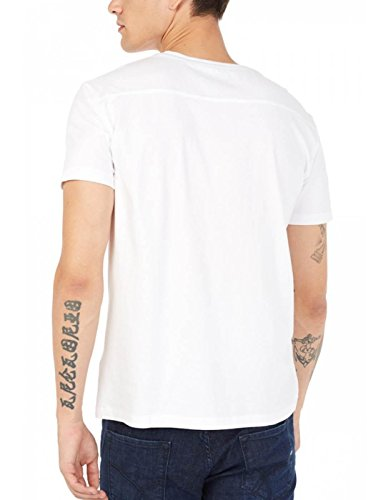 T- Shirt Gas Jeffery White Chaos Weiß