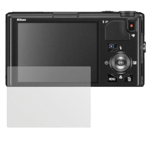 dipos I 6X Schutzfolie matt passend für Nikon Coolpix S9500 Folie Displayschutzfolie (Nikon Coolpix S9500 Kamera)