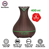 """""""ReNe-Maurice Aroma Essential Oil Diffuser 400ml Ultrasonic Humidifier with 7 Mood Changing LED"""