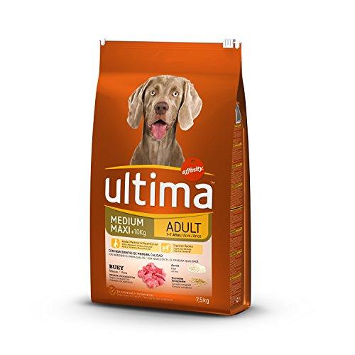 Ultima Pienso Perros Medium-Maxi Adulto Buey - 7.5