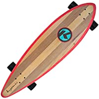 Skateboard Kryptonics Longboard Through complet avec roulements ABEC 5