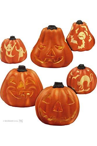 Widmann Leuchtender Kürbis für Halloween Party, Motiv 2