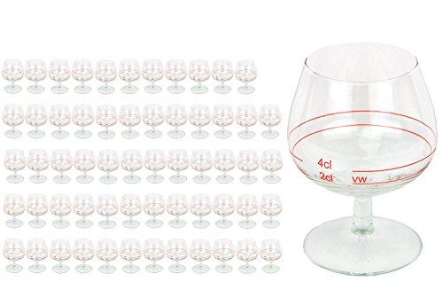 60er Set Cognacschwenker Casino Mit Rotring 2 Cl 4cl Geeichtes Cognacglas Fr Genieer Mit Fllstrich Likrglas Schnapsglas Fr Edle Tropfen Hochglnzendes Markenglas Spirituosenglas Klar