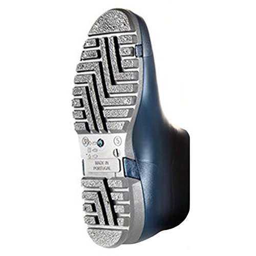 Dunlop Sport blau , Gummistiefel in blau Blau/Grau