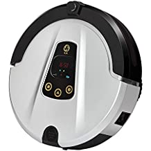 KASIQIWA Aspirador Inteligente, Control de Aplicaciones de Alta succión con cámara HD Gyro Navigation 4