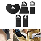 GIlH 5pcs Oscillating Multitool Saw Blades for Fein Multimaster Makita Bosch...