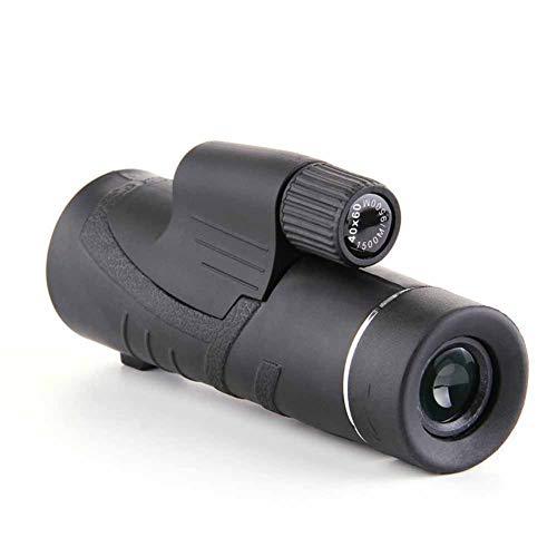IGPG Monocular, Alta Potencia, Zoom 40X60, visión Nocturna, monocular, HD, Lentes ópticas, Impermeable, observación de Aves, Viajes, acampadas, Caza, (1500m / 9500m)