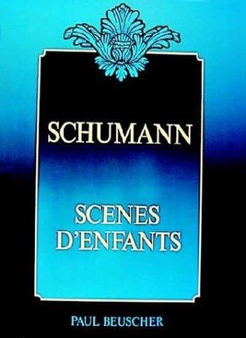 Partition : Schumann scenes d'enfant...