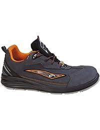 Giasco - Calzado de Protección para Hombre Multicolor Black-Neon 46 EU MDAGRe3sL