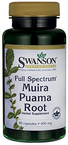 SWANSON Full Spectrum Muira Puama Root 400 mg - 90caps