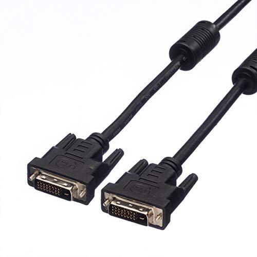 VALUE DVI Kabel, DVI,ST/ST, DualLink,2m Dvi Component-video-kabel