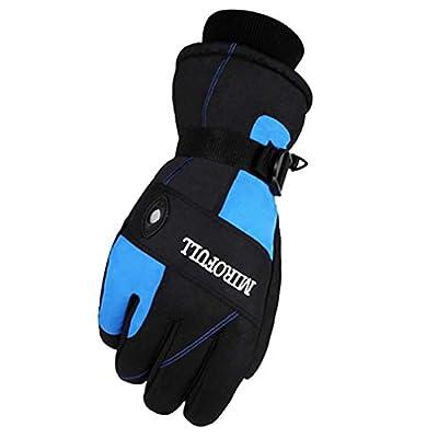 Warm Winddichte wasserdichte Ski-Handschuhe Ski-Ausrüstung Wintersport-Handschuhe für Männer, 03