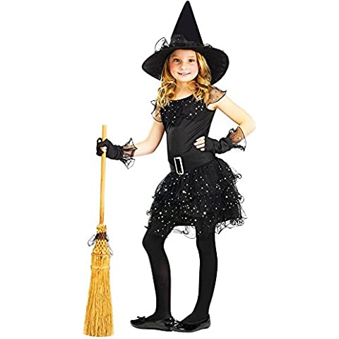 Big Girls' Glitter Witch Costume Large (12-14)