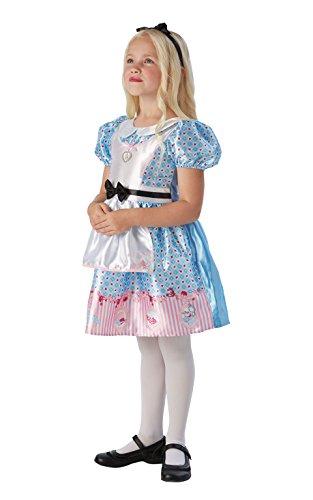 Alice nel paese delle meraviglie - Bambini Costume - Small - 104 centimetri - Età 3-4