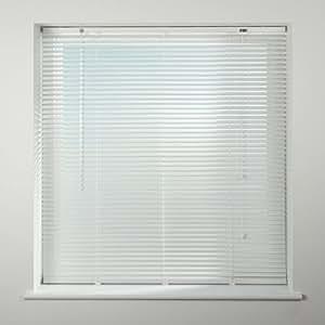 Universal - Store vénitien en aluminium 25 mm - blanc - 75 x 160 cm