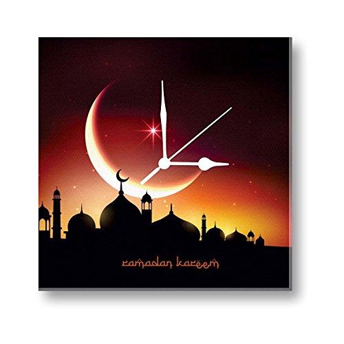 YaYa cafe Eid gifts, Aesthetic Ramadan Kareem Eid Mubarak Islamic Canvas Wall...