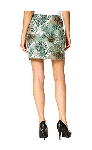Chillytime - Jupe - Opaque - Femme Vert Grün-Bunt Multicolore - Grün-Bunt