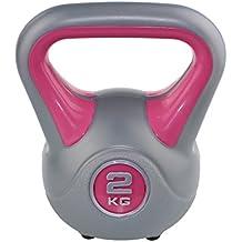 Sveltus mancuerna rusa para fitness, 2 kg, color rosa