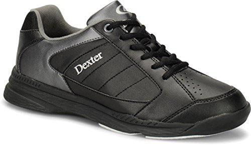 Dexter Ricky IV Bowling Schuhe für Einsteiger und Profis Größe 38-47 Schwarz/Alloy Größe 42,5