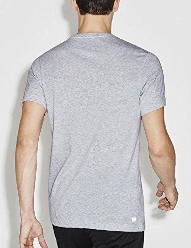 Lacoste Classic Uomo Maglieria / T-shirt Training Grigio