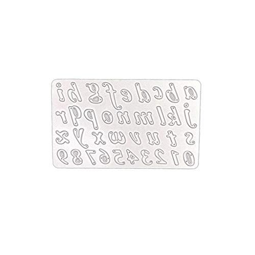 chablonen Schneiden Schablonen Papier Karten Sammelalbum Dekor, Metall Schneiden Schablonen für DIY Scrapbooking Album 0626108 ()