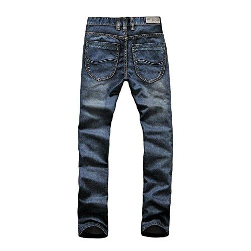 MIUK Herren Jeanshose Grau/Blau