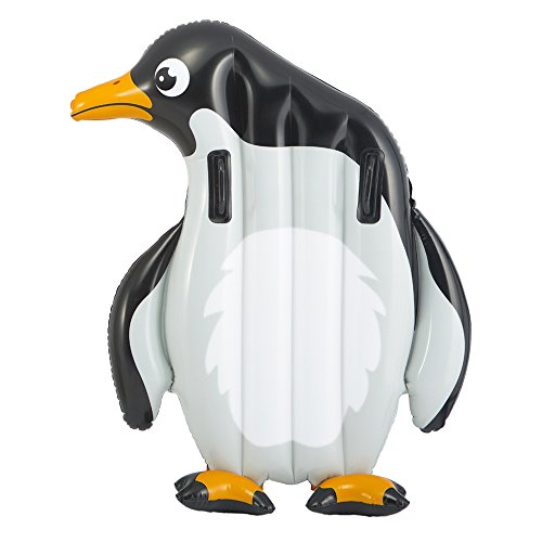 Intex - Cocodrilo y pingüino hinchable, 112 x 114 cm, 94 x...