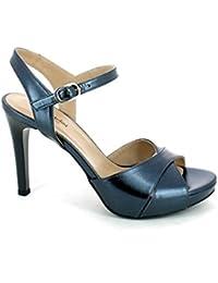 Itnero Giardini Da Bcrxedwo Amazon Donnae Scarpe Blu Sandali EH9I2WD
