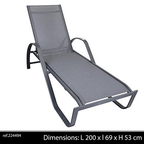 Chaise Longue avec Accoudoirs, Maltae
