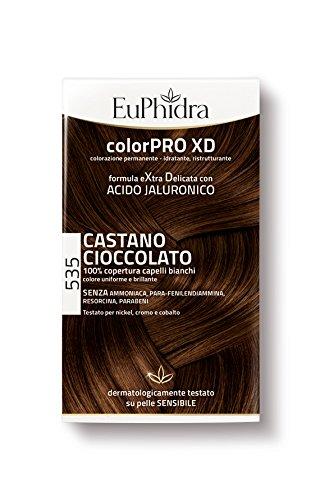 Euphidra Tinta Color Pro XD 535 Colorazione Permanente senza ammoniaca CASTANO CIOCCOLATO