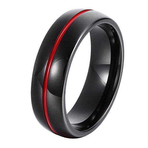 L-Ring  -  24k  Wolframcarbid     keine Angabe  (Männer Diamant-hochzeit Band-größe 13)