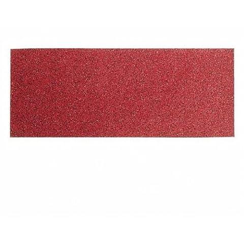 Bosch 2608605247 Feuille abrasive pour ponceuse vibrante 115 x 280 mm Grain 60 10 pièces