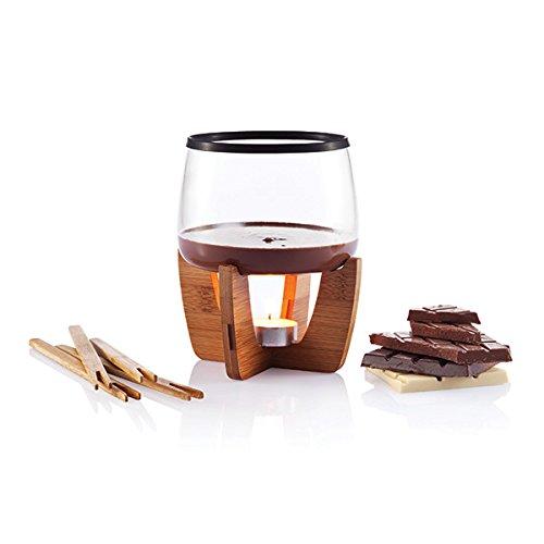 XD Design P263.201 Cocoa Schokoladenfondue Set für 4 Personen