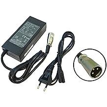 vhbw 220V Fuente de alimentación cargador Pedelec, baterías de bicicletas eléctricas con conector 3Pin para Prophete 24V Trio Sattelrohr E-Bike.