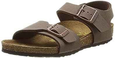 Birkenstock New York, Unisex-Child Sandals, Mocca, 1 UK Child(32 EU)